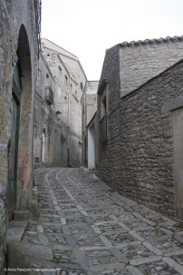 Stones in the streets of Erice