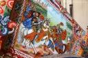 Sicilian Cart, details - Calatafimi, Sicily